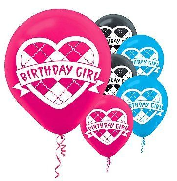 Monster High - Latex Balloons Party Accessory $3.40 (66% OFF)