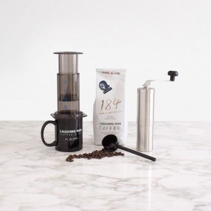 The Travelers Collection by Laughing Man Coffee & Tea at Zola