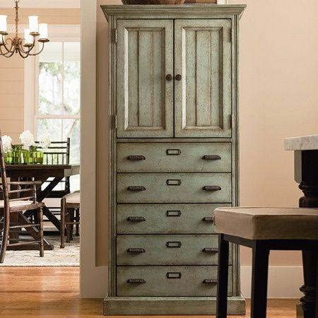 shabby chic kitchen cabinet - myshabbychicdecor... - #shabby chic #home decor #design #ideas #wedding #living room #bedroom #bathroom #kithcen #shabby chic furniture