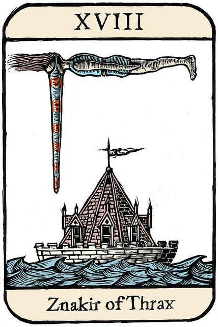 Ellis Nadler, Cards of Wu, XVIII (Znakir of Thrax)