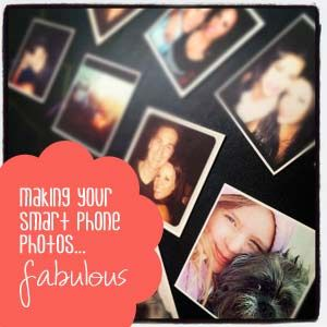 Making your smart phone photos fabulous! Apps and services to make your photos fabulous, on and off your phone.