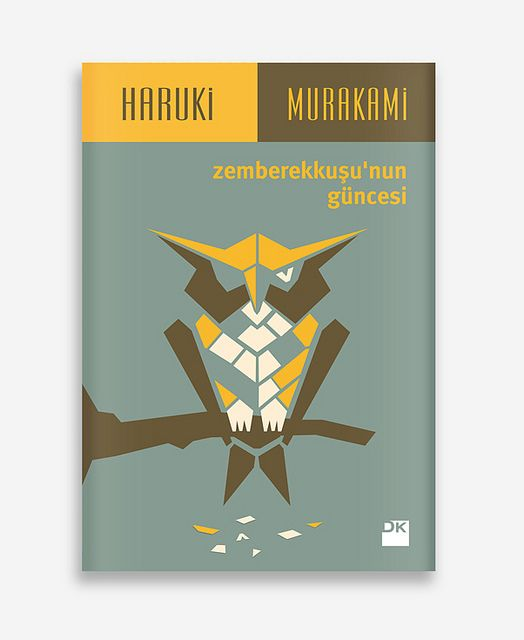 The Wind-Up Bird Chronicle / Haruki Murakami / Book Cover by geray gencer, via Flickr