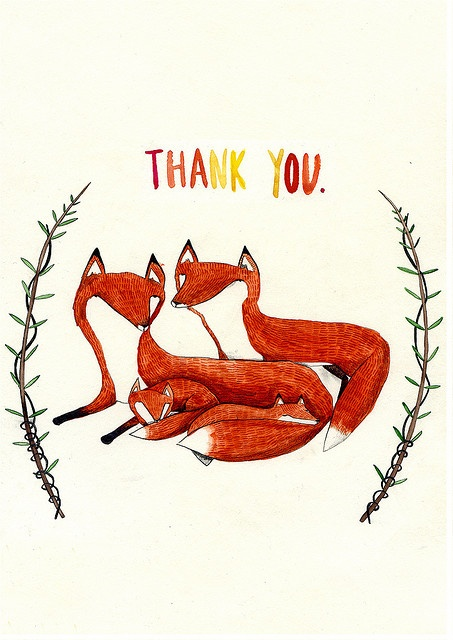thank you foxes