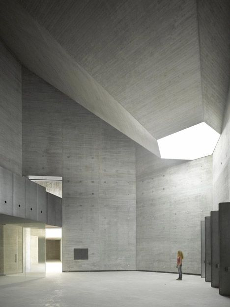 Contemporary Art Centre Córdoba, Spain by Nieto Sobejano Arquitectos  #concrete #architecture