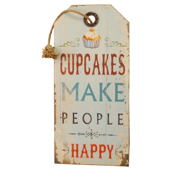 Cupcakes Make People #happy indeed – #Wall #Sign