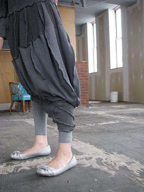 Sculptural skirt, by Secret Lentil.