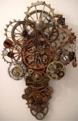 Steampunk Clock - Erin Keck