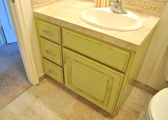 Sassy Sanctuary: Bathroom Cabinet- Before and After