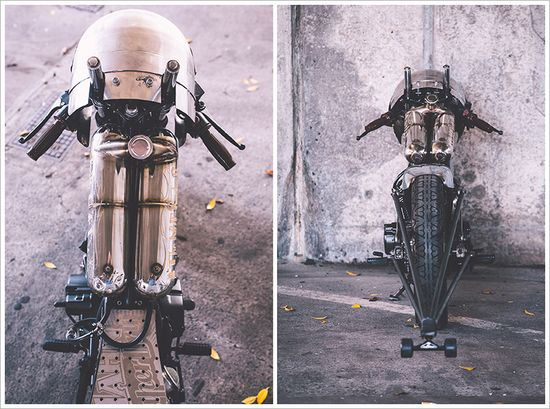 Honda CB250 - 'The Nut Buster' - Pipeburn - Purveyors of Classic Motorcycles, Cafe Racers & Custom motorbikes