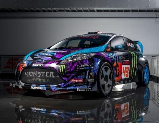 Cool Monster Rally Car
