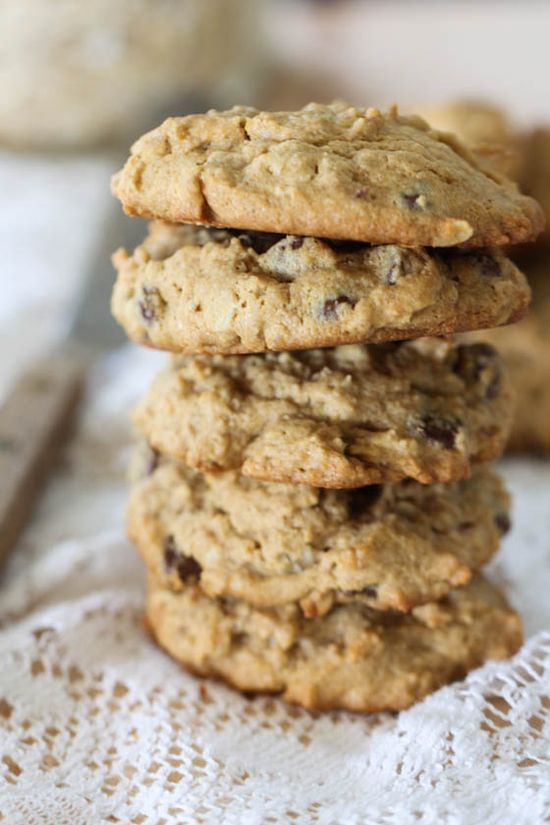 pb oatmeal cookies