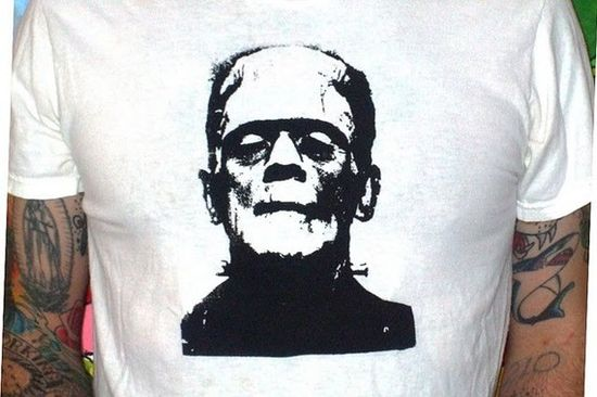 frankenstein t shirt by UndeadTrash on Etsy, $13.00