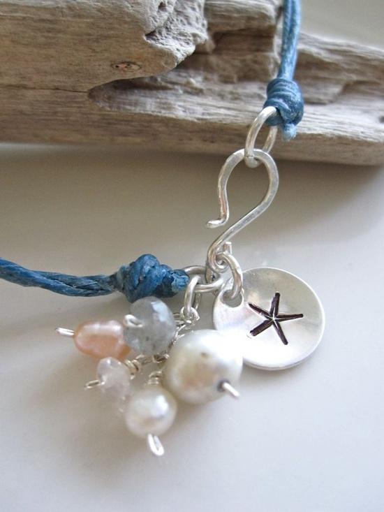 Pretty sea side inspired bracelet.