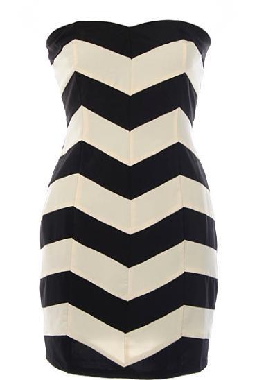 Chevron dress. Love!