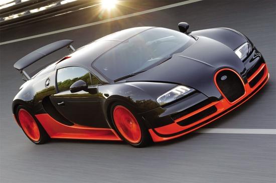 Fastest car on the roads....Bugatti Veyron Super Sport....