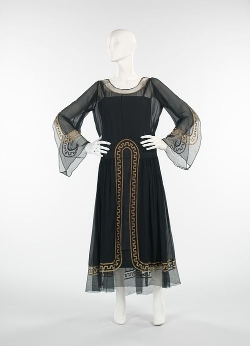 Jeanne Lanvin dress ca. 1925 via The Costume Institute of the Metropolitan Museum of Art