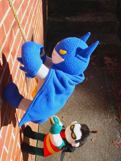 holy felt dolls batman!