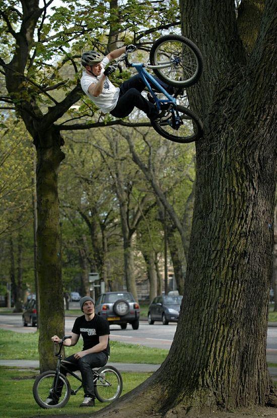 akrobacje rowerowe
