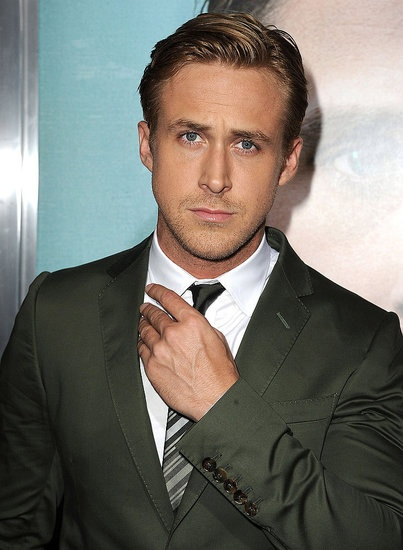 #RyanGosling looked dapper in a dark green suit at the Los Angeles premiere of The Ides of March in 2011. #hot #celebrity