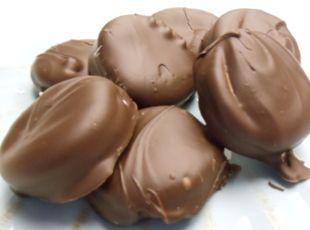 PMS Cookies Recipe - A little bit chocolate, little bit salt, little bit peanut butter and then there's the fluff! Oh My!