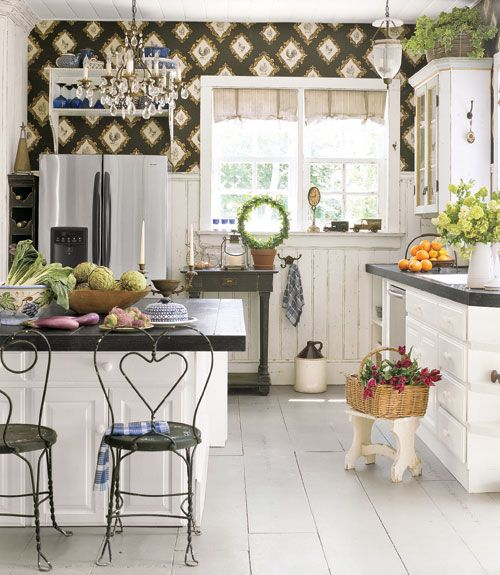 LOVE this kitchen! Kitchen Designs - Pictures of Kitchen Designs and Decorating Ideas - Country Living