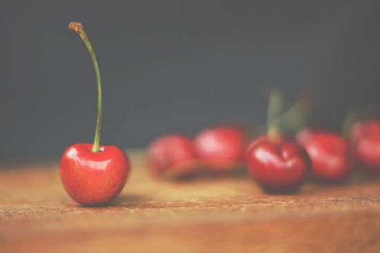 Cherries Food Styling Photography, Kitchen Decor $25.00+