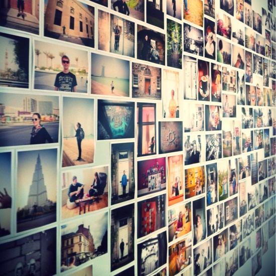 Once I actually travel to more places, this would be amazing to have!! Wall of Travel Photos