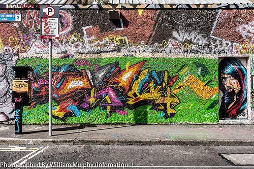 Street Art And Graffiti - Windmill Lane [Streets Of Dublin]