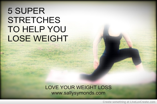 will stretching help you lose weight