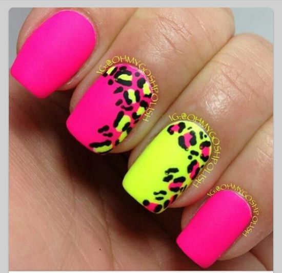 love the colors. nail art