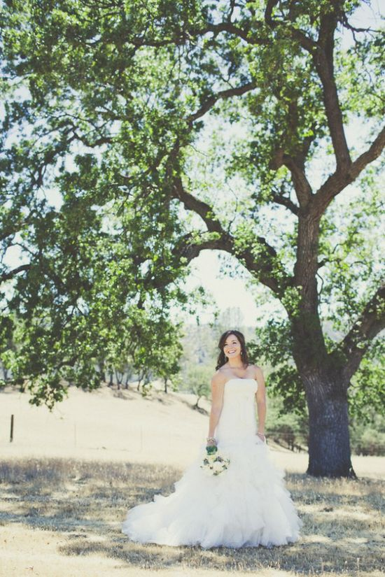 Elegant Farm Chic Bride