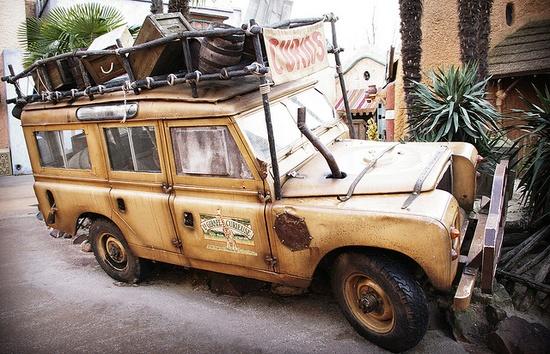 Indiana Jones' car by cyprien.delpuech, via Flickr