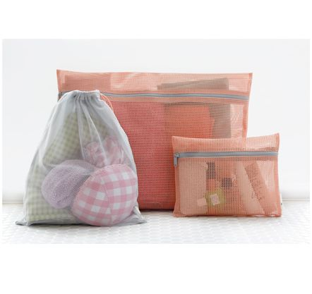 Oh so tidy ... MochiThings.com: Mesh Travel Pouch Set