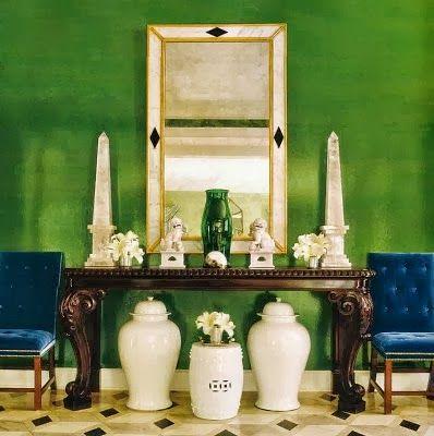 My favorite Green by Miles Redd.