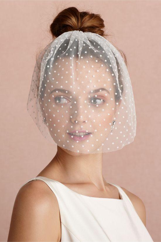 Dotted Veil via BHLDN