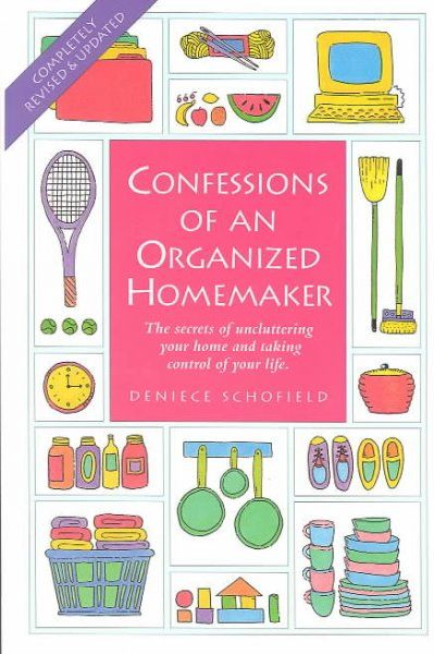 This isn't just for Homemakers, everyone can benefit. You'll find ideas for organizing your home such as: How to simplify your planning, Schedule cleaning time, storage alternatives, meal planning, etc. Go ahead -- organize yourself.