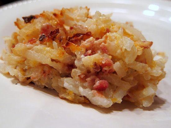 loaded potato casserole