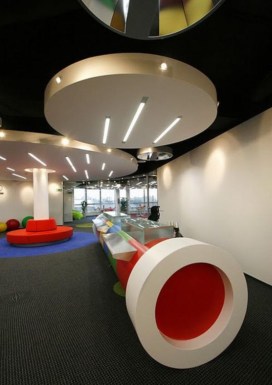 Google Modern Office Design #interiordesign #officedesign