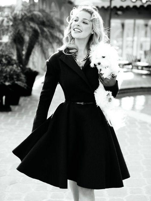 Black 50's dress