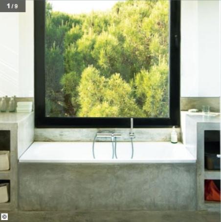 #bath #home #interior # decor #bathroom #stone #natural