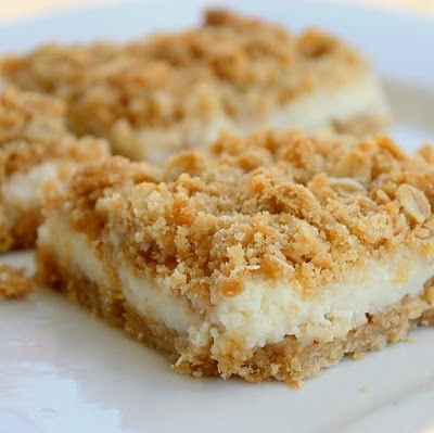 Creamy Lemon Crumb Squares  from the Pioneer Woman