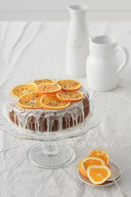 Lovely, very inviting looking Orange Cake. #baking #cooking #food #dessert #cake #oranges #entertaining