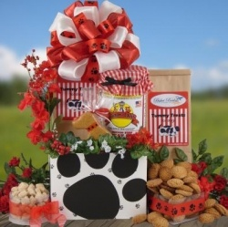 dog gift baskets for the pet and owner!