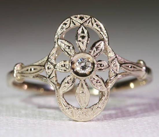 Art Deco ring...