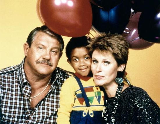 Webster - R.I.P. Alex Karras (1935-2012) pictured here with his costars Susan Clark (also his real life wife) and Emmanuel Lewis from their TV show