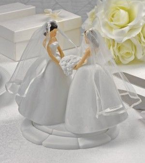Gay and lesbian-friendly wedding cake toppers #sex guide