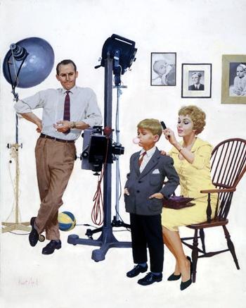 KURT ARD (b. 1925) - FAMILY PHOTOGRAPHER