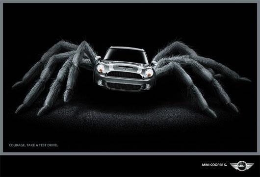 Mini Cooper commercial ad