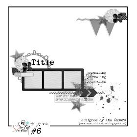 Scrap & Music layout sketch #6