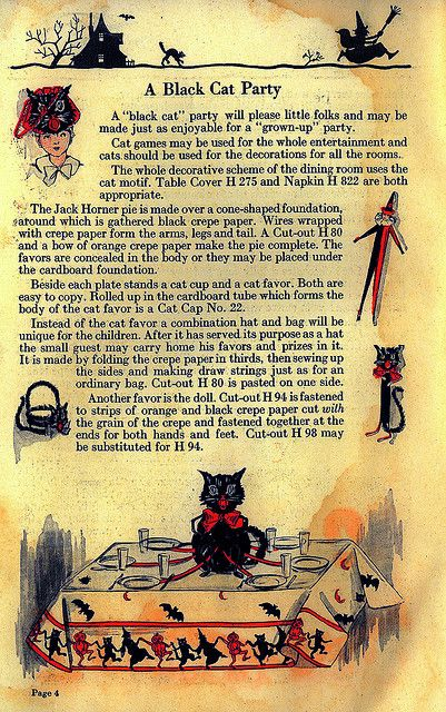 A Black Cat Party